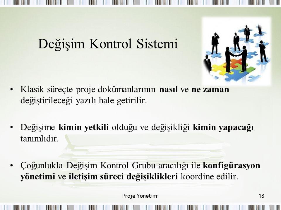 Değişim Kontrol Sistemi
