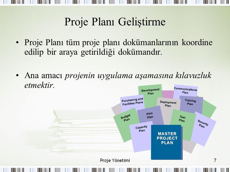 Proje Planı Geliştirme