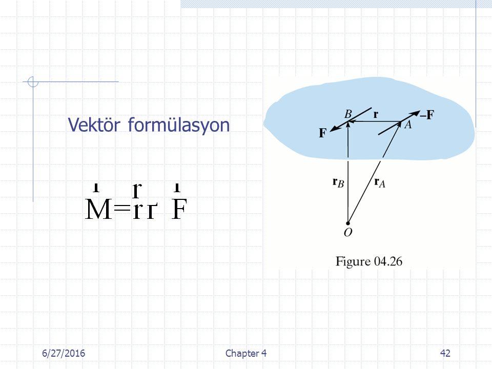 Vektör formülasyon 4/28/2017 Chapter 4