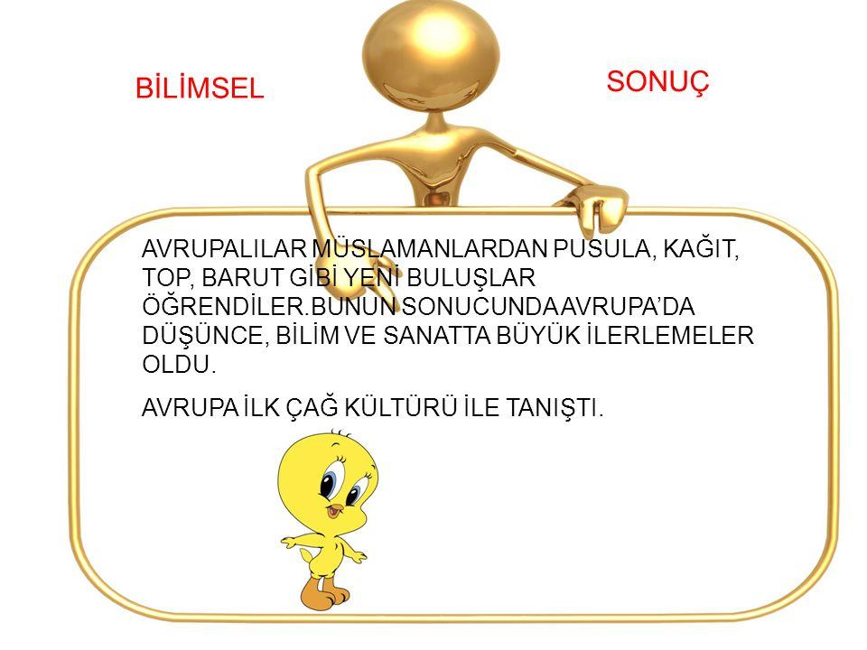 SONUÇ BİLİMSEL.