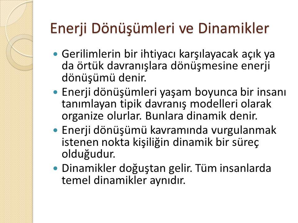 Enerji Dönüşümleri ve Dinamikler