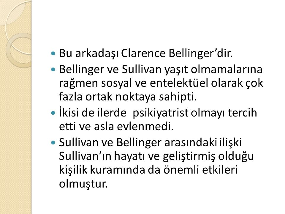 Bu arkadaşı Clarence Bellinger'dir.