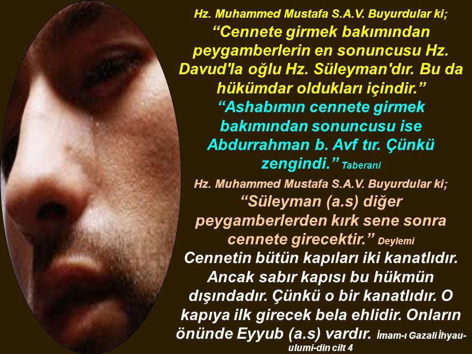 Hz. Muhammed Mustafa S. A. V
