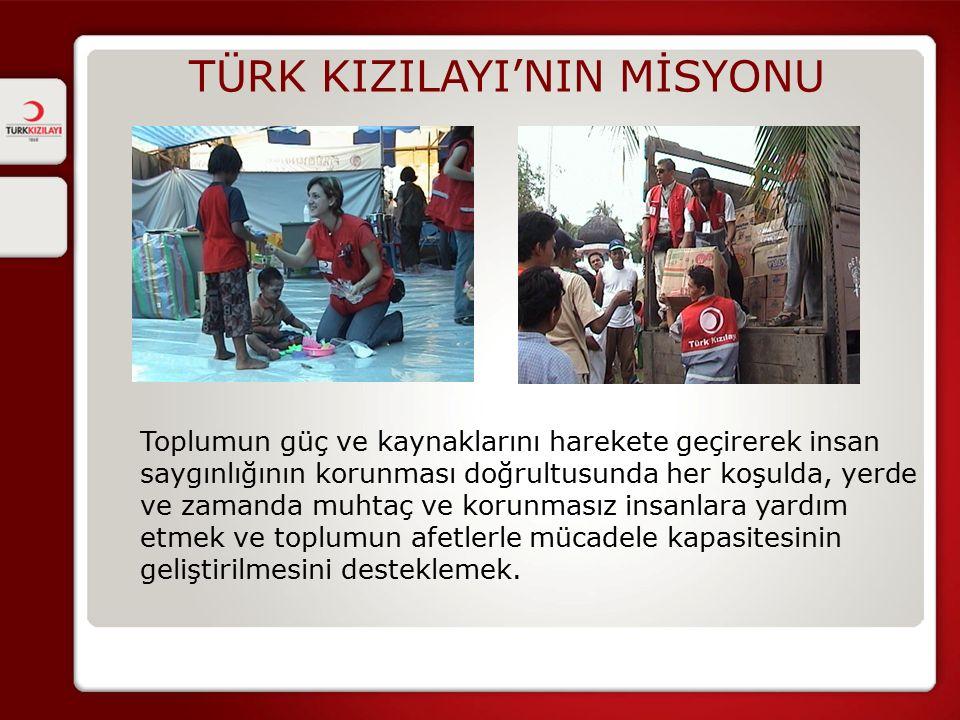 TÜRK KIZILAYI'NIN MİSYONU