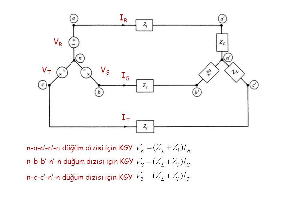 n-a-a'-n'-n düğüm dizisi için KGY