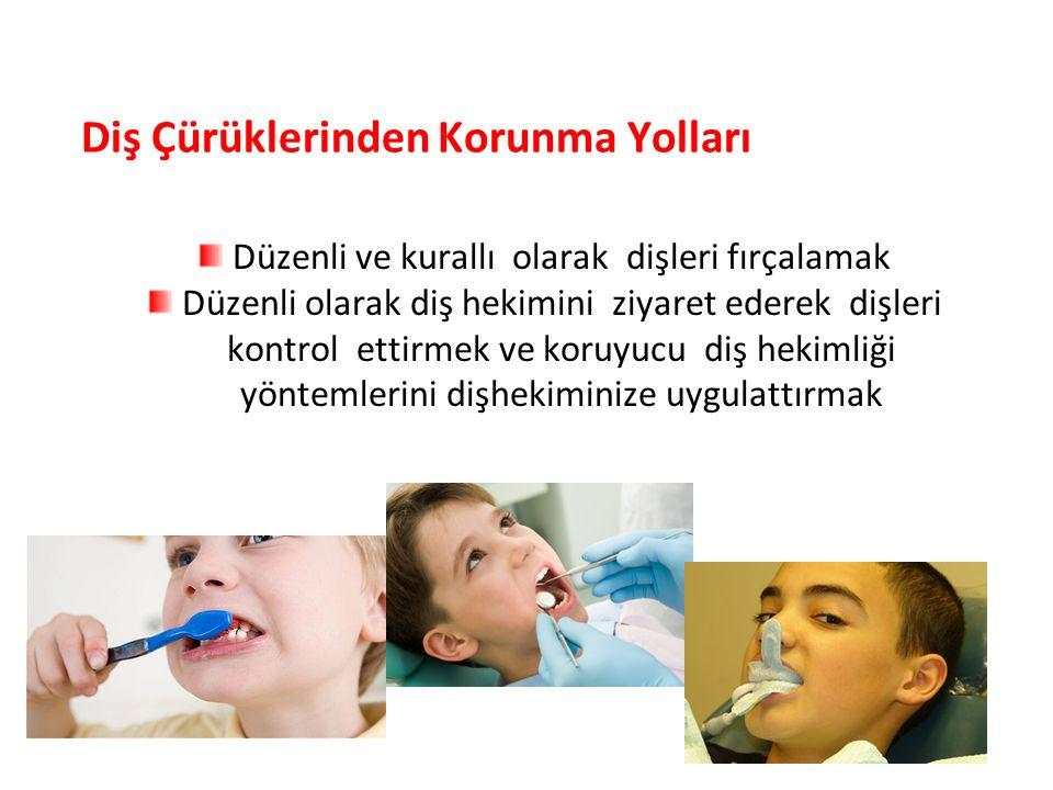 Diş Çürüklerinden Korunma Yolları