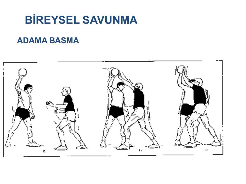 BİREYSEL SAVUNMA ADAMA BASMA