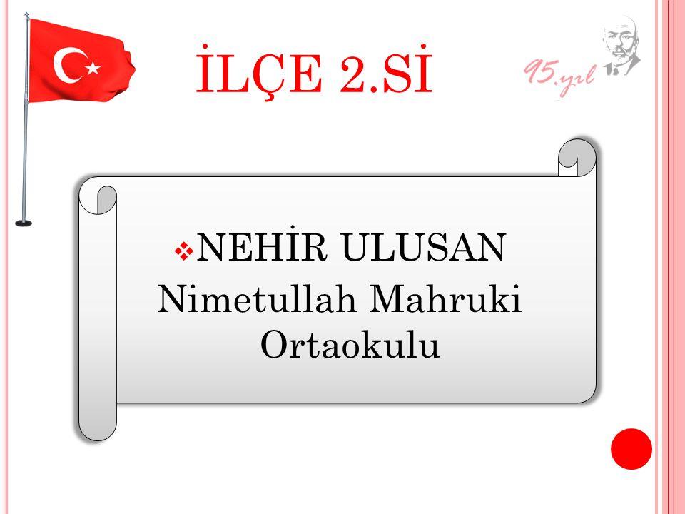 Nimetullah Mahruki Ortaokulu