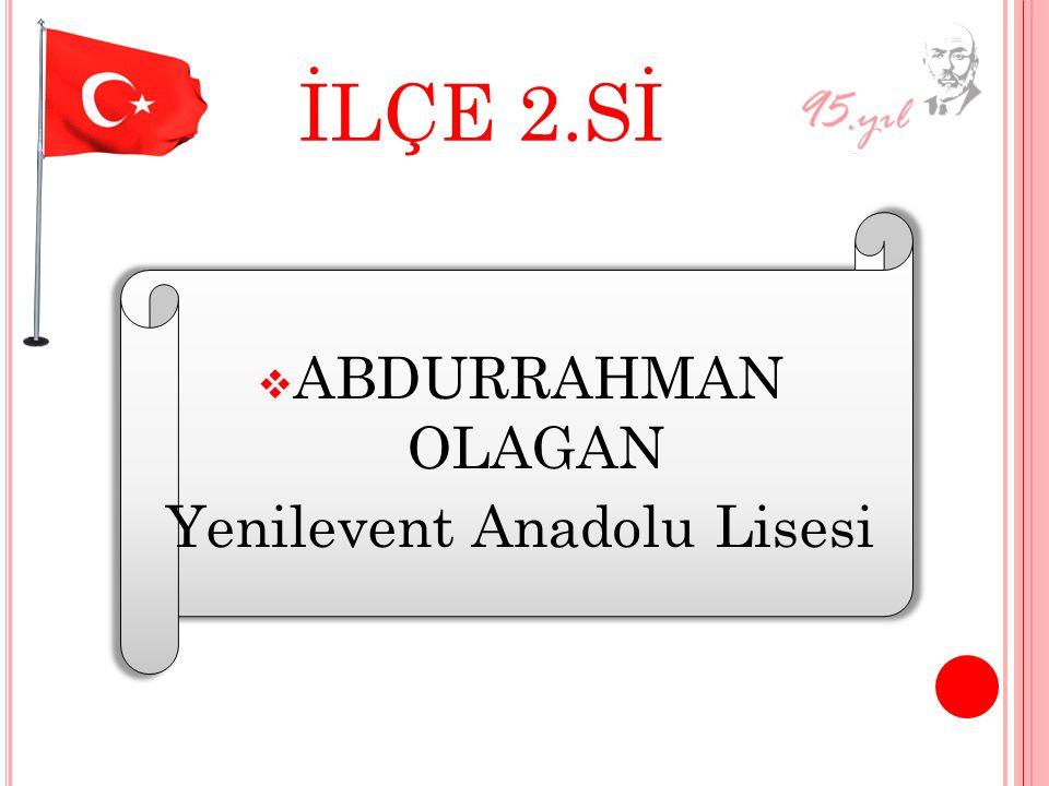 Yenilevent Anadolu Lisesi