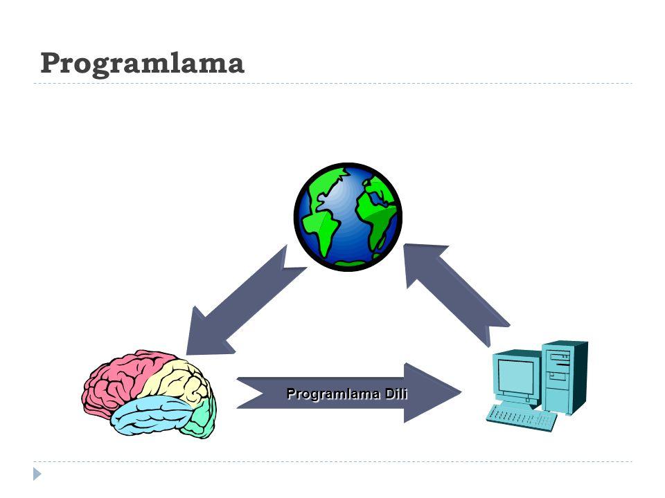 Programlama Programlama Dili