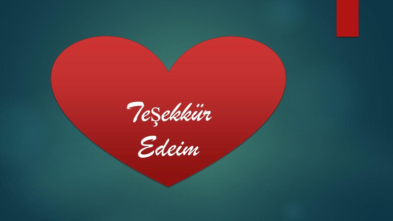 Teşekkür Edeim