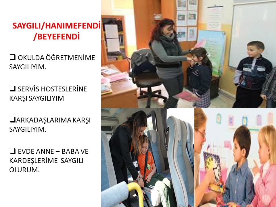 SAYGILI/HANIMEFENDİ/BEYEFENDİ