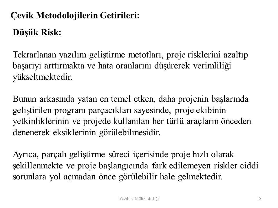 Çevik Metodolojilerin Getirileri: