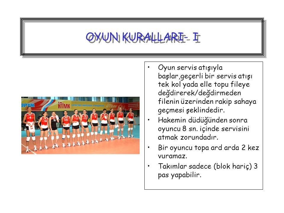OYUN KURALLARI- I