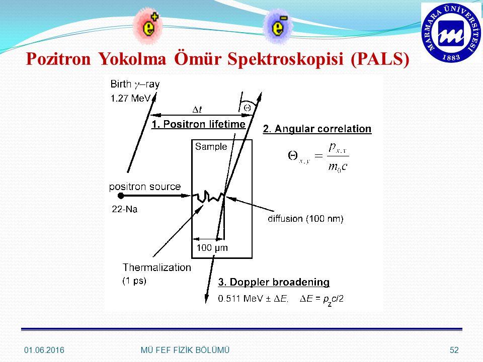 Pozitron Yokolma Ömür Spektroskopisi (PALS)