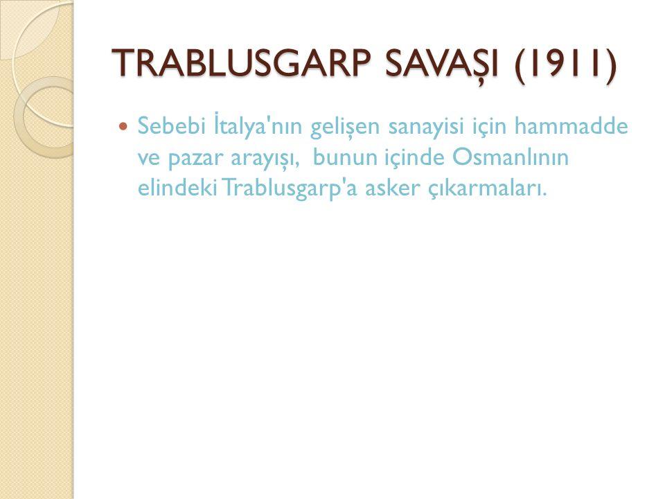 TRABLUSGARP SAVAŞI (1911)