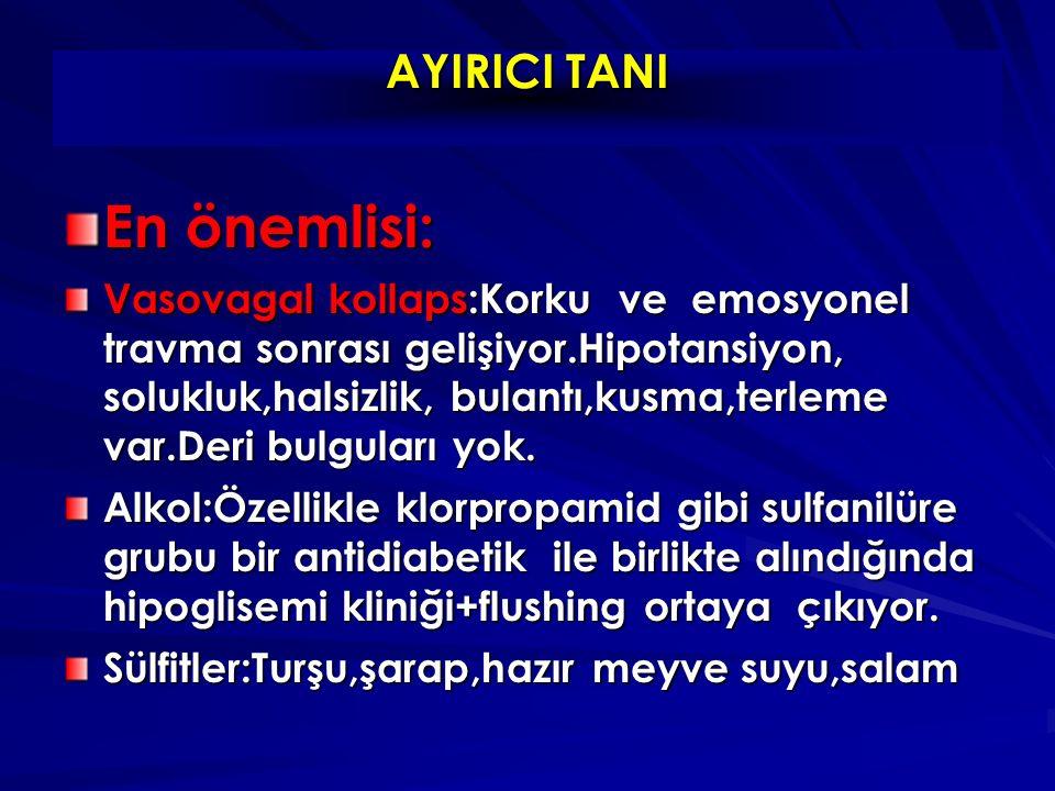 En önemlisi: AYIRICI TANI
