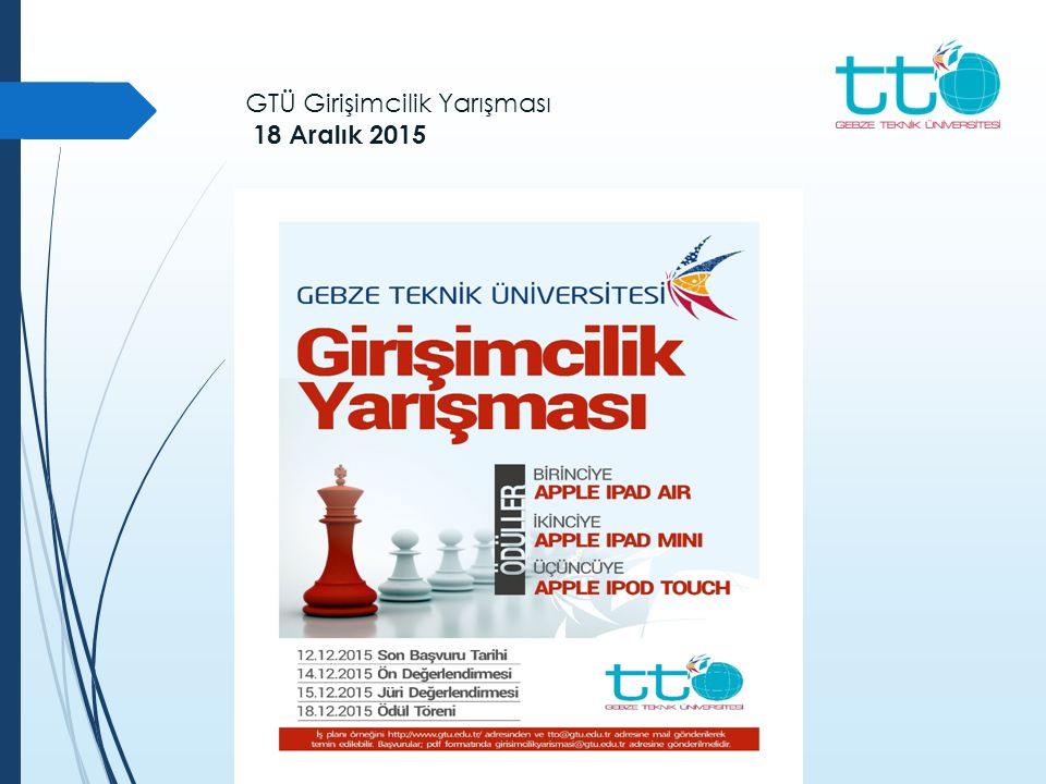 GTÜ Girişimcilik Yarışması