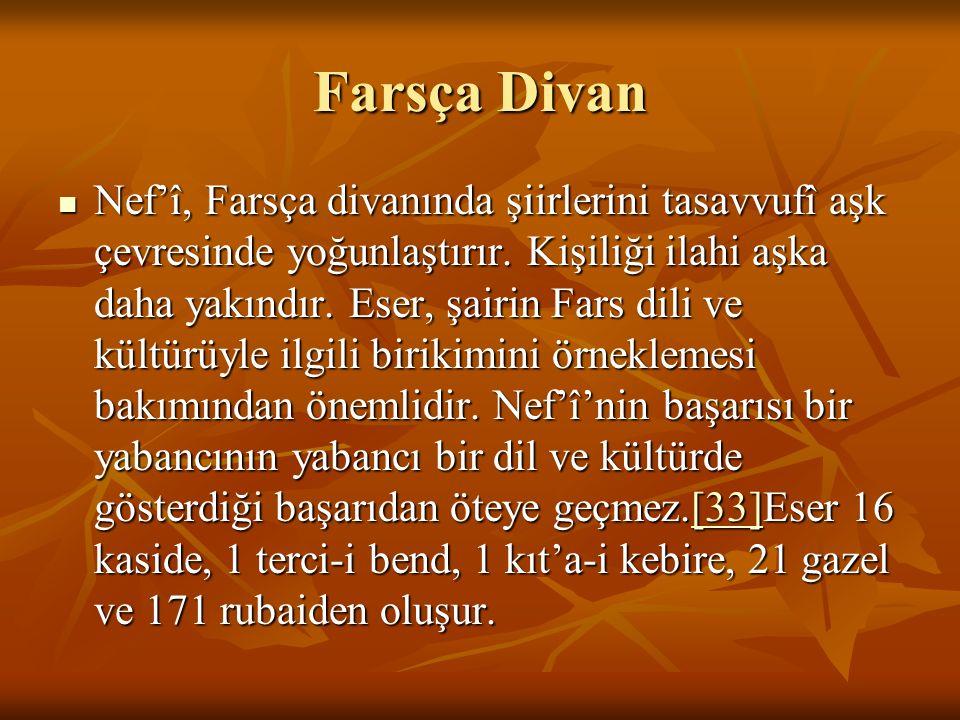 Farsça Divan