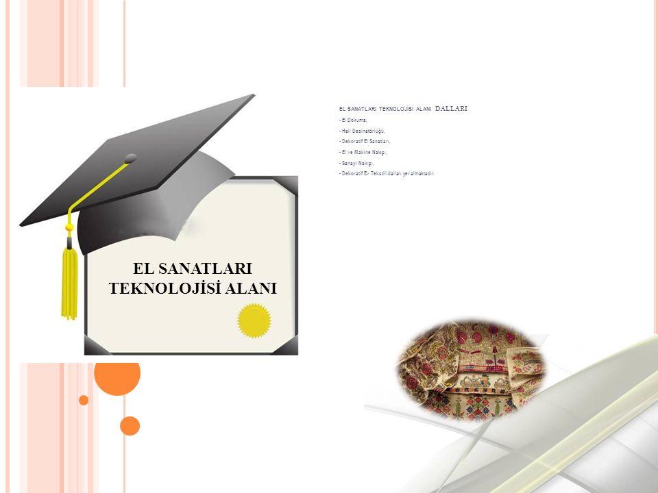 EL SANATLARI TEKNOLOJİSİ ALANI