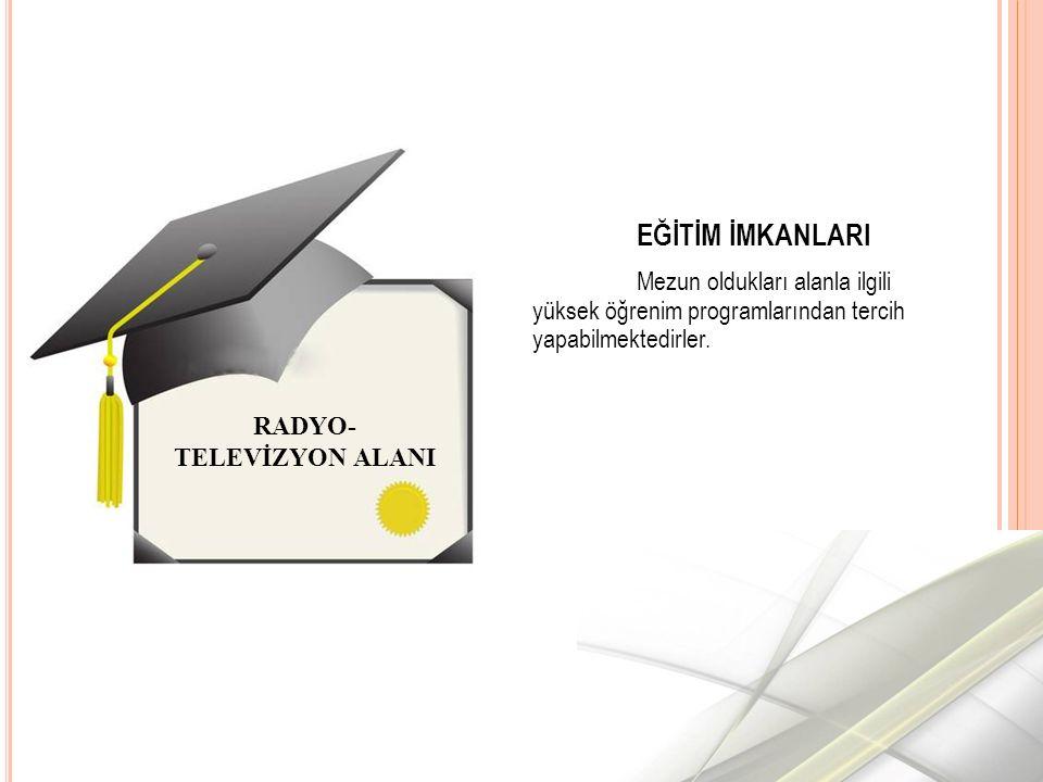 RADYO- TELEVİZYON ALANI