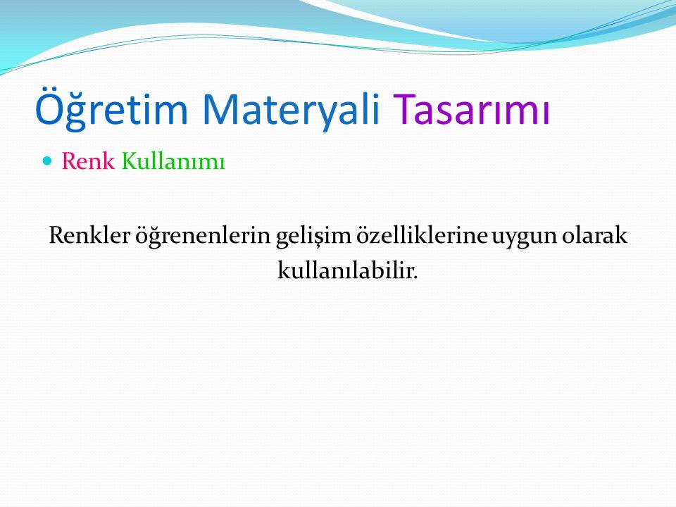 Öğretim Materyali Tasarımı