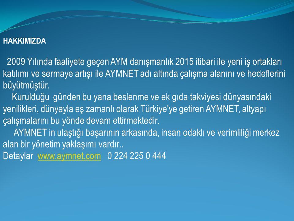 Detaylar www.aymnet.com 0 224 225 0 444