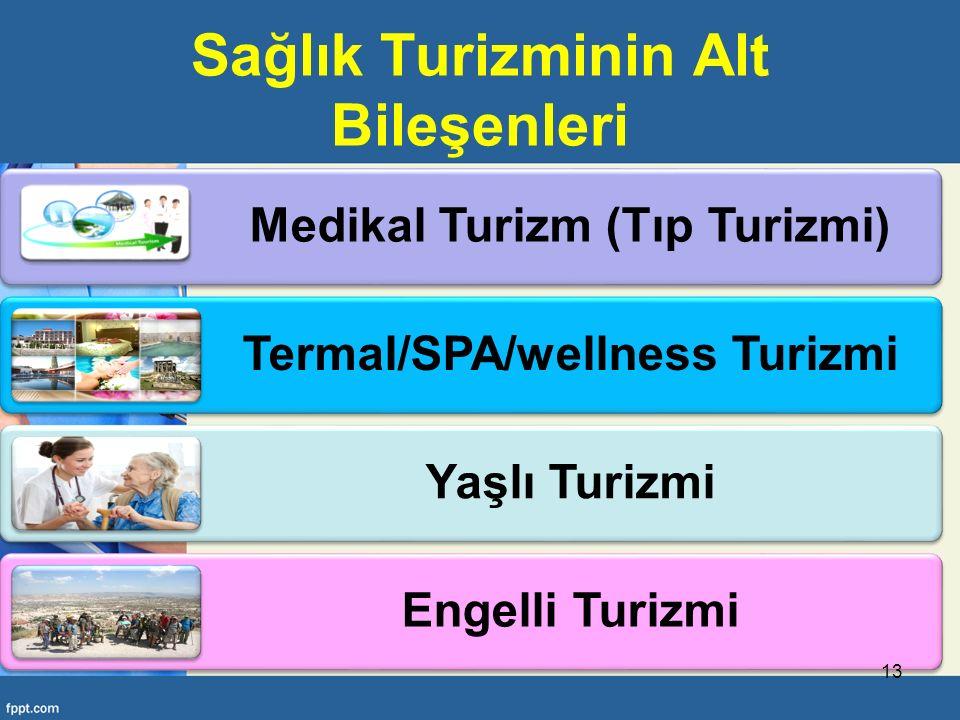 Sağlık Turizminin Alt Bileşenleri