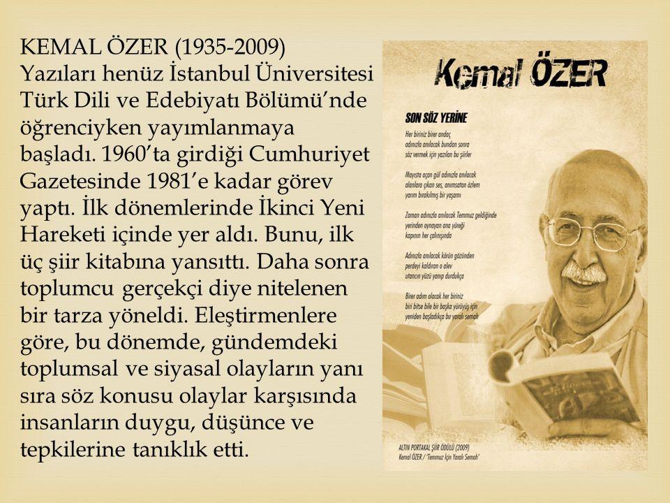Kemal Özer (1935-2009)