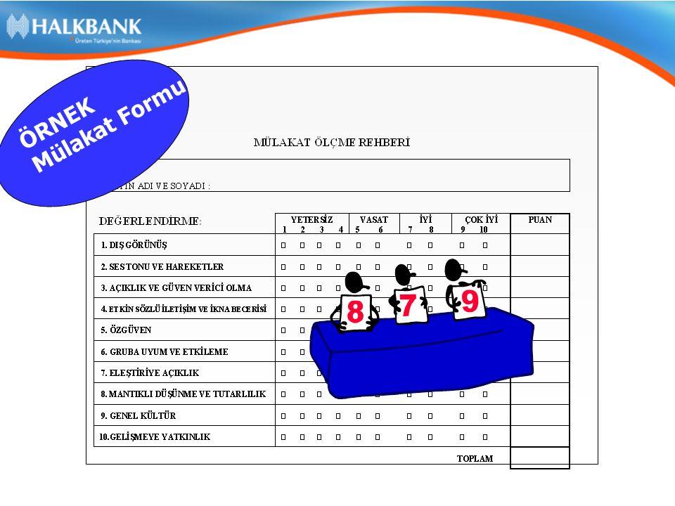 Halkbank Unvan Grupları