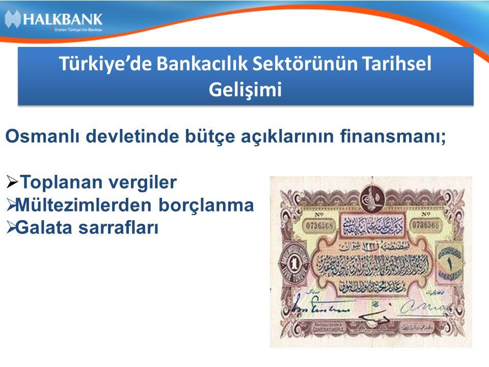 Türkiye'de Bankacılık Sektörünün Tarihsel Gelişimi