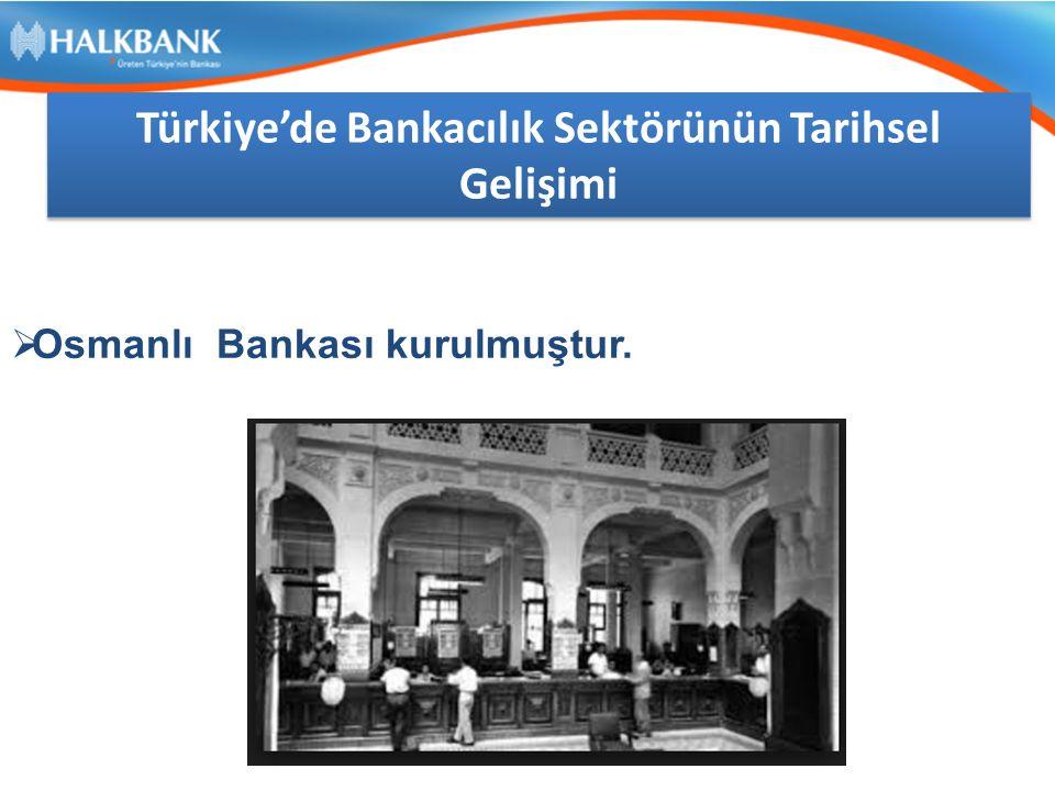 TÜRK FİNANS SEKTÖRÜNDE BANKACILIK