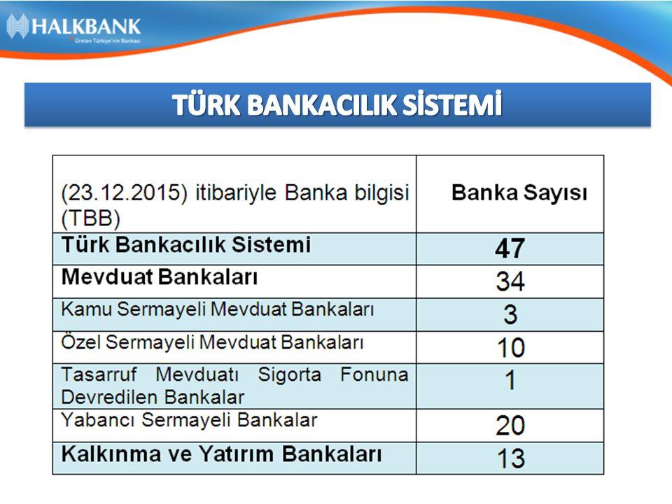 TÜRK BANKACILIK SİSTEMİ