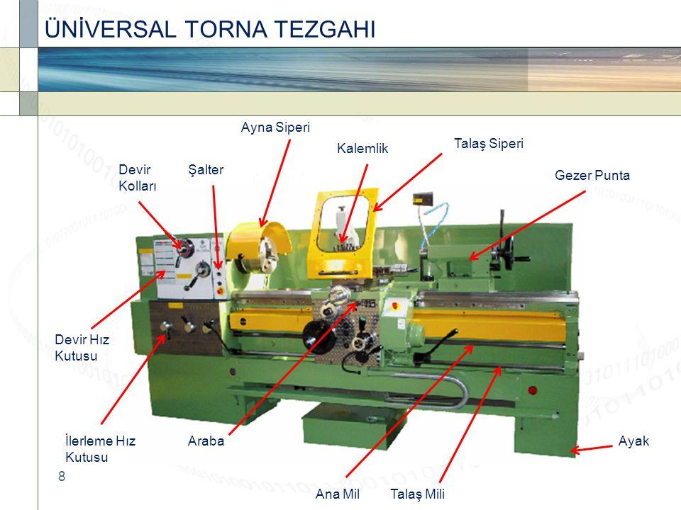 ÜNİVERSAL TORNA TEZGAHI
