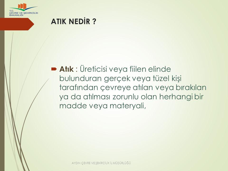 ATIK NEDİR