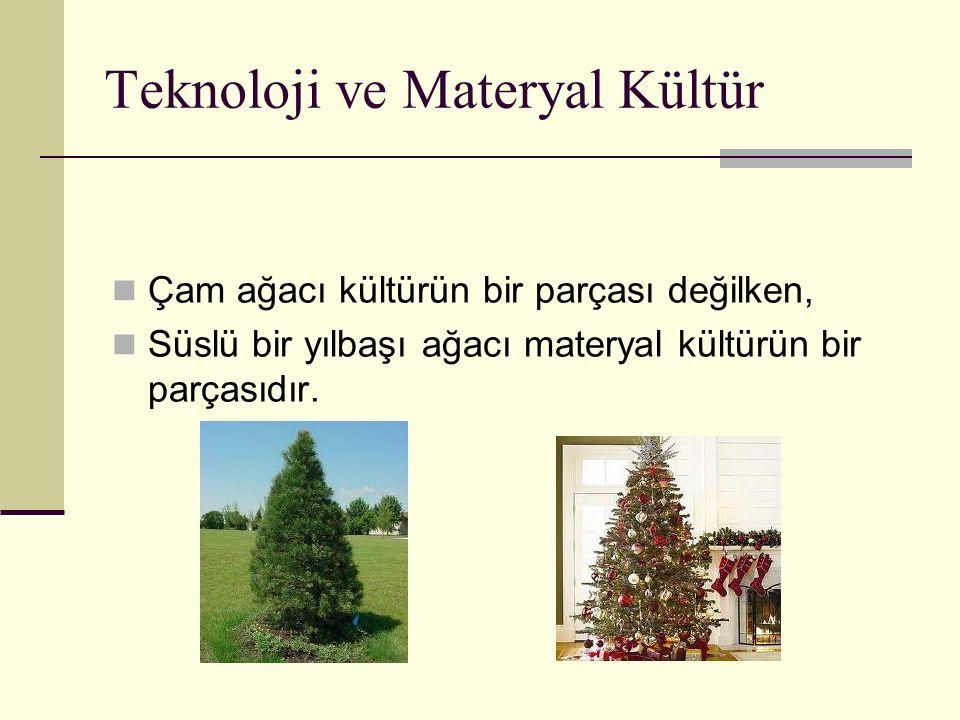Teknoloji ve Materyal Kültür
