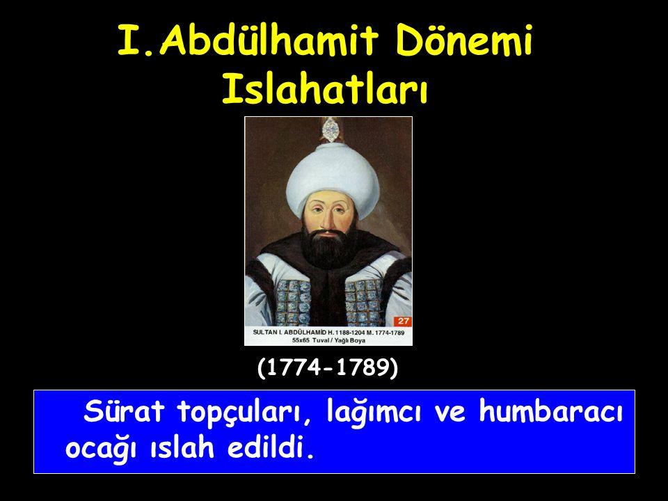 I.Abdülhamit Dönemi Islahatları