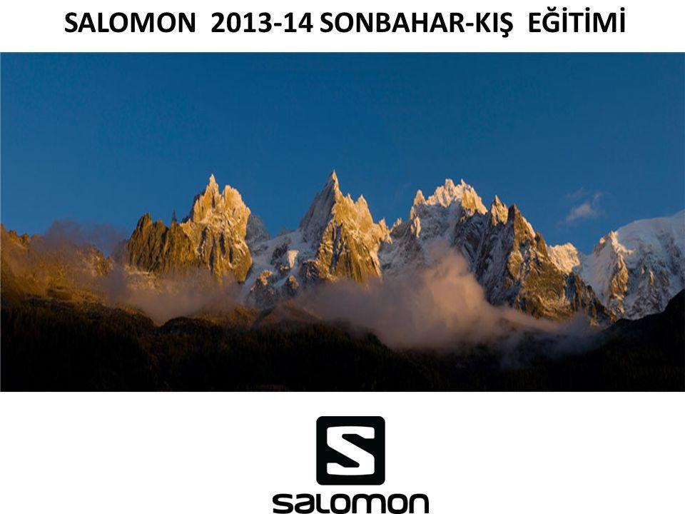 SALOMON 2013-14 SONBAHAR-KIŞ EĞİTİMİ