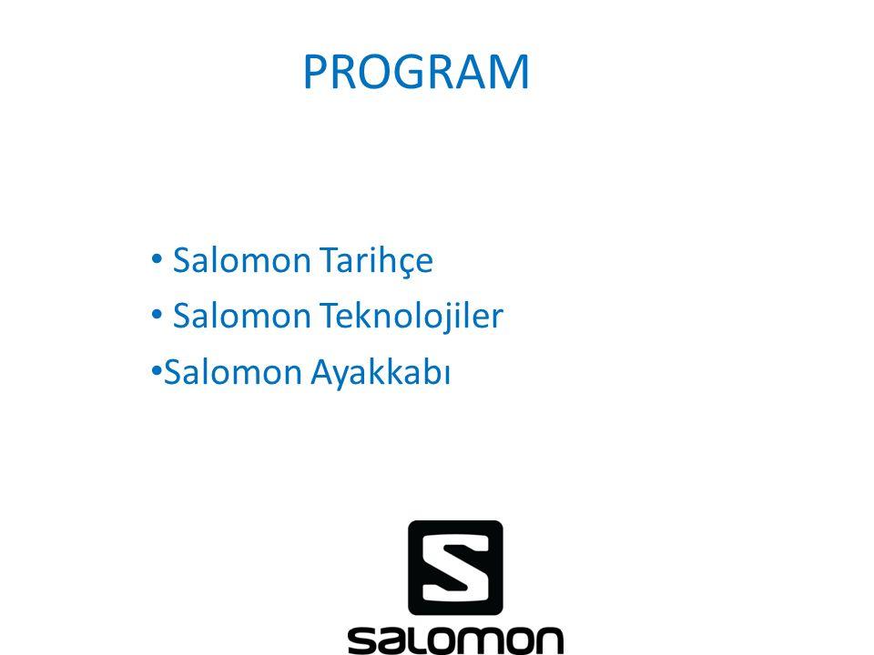 Salomon Tarihçe Salomon Teknolojiler Salomon Ayakkabı