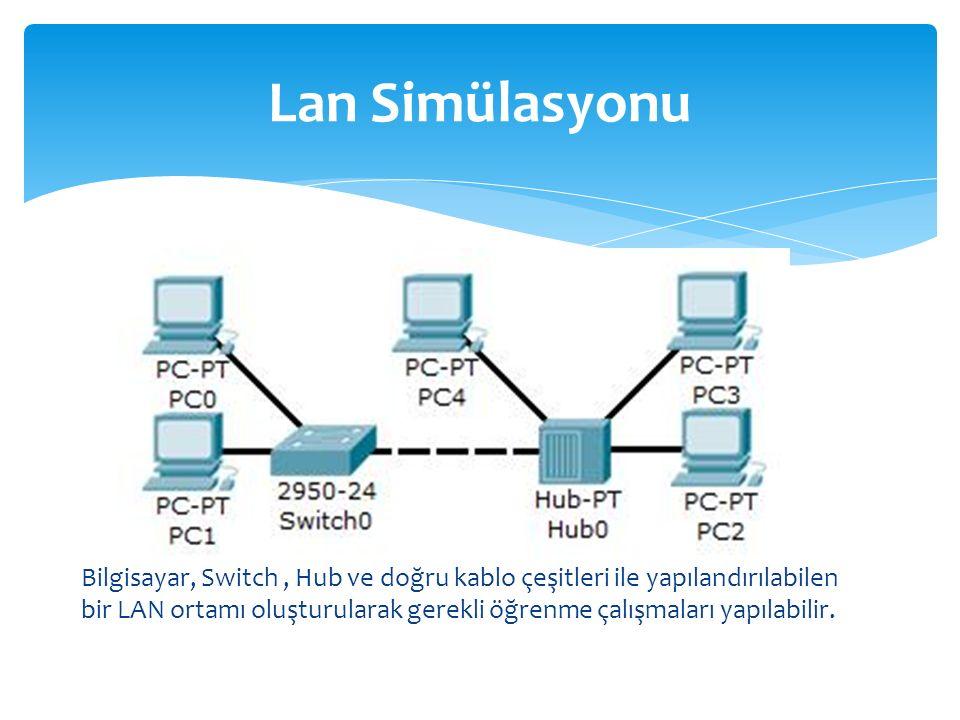 Lan Simülasyonu