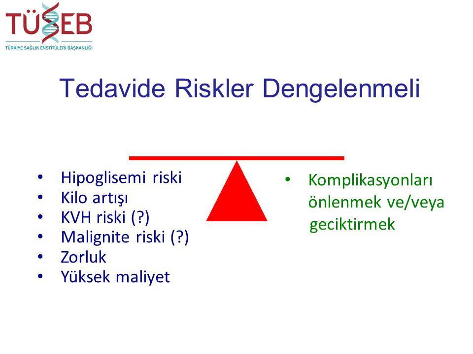Tedavide Riskler Dengelenmeli