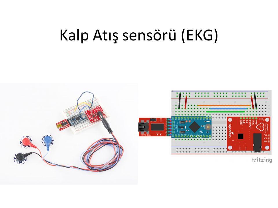 Kalp Atış sensörü (EKG)