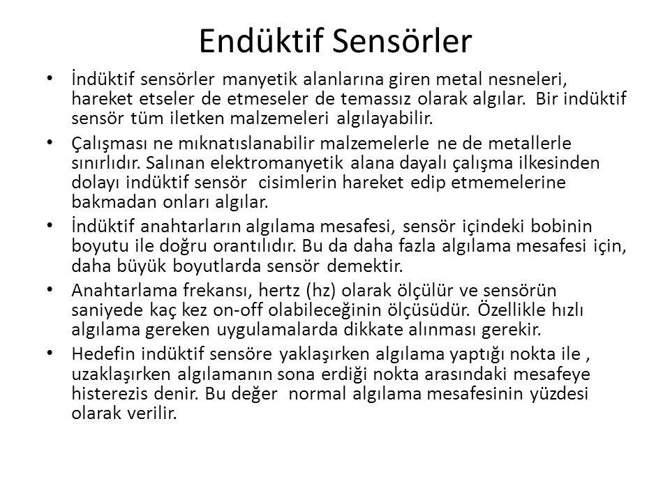 Endüktif Sensörler