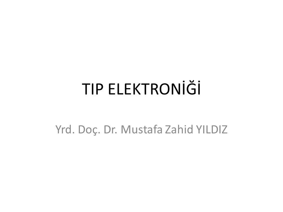 Yrd. Doç. Dr. Mustafa Zahid YILDIZ
