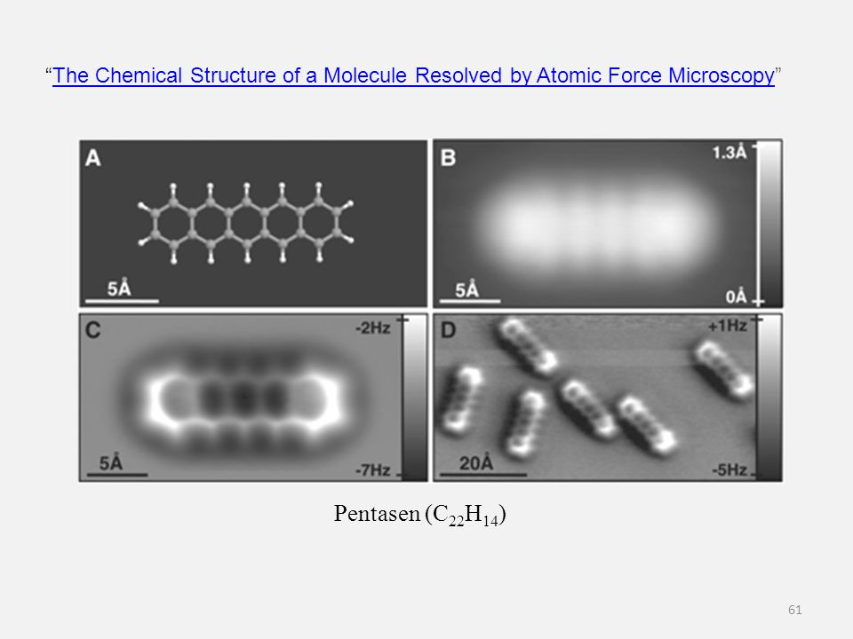 The Chemical Structure of a Molecule Resolved by Atomic Force Microscopy