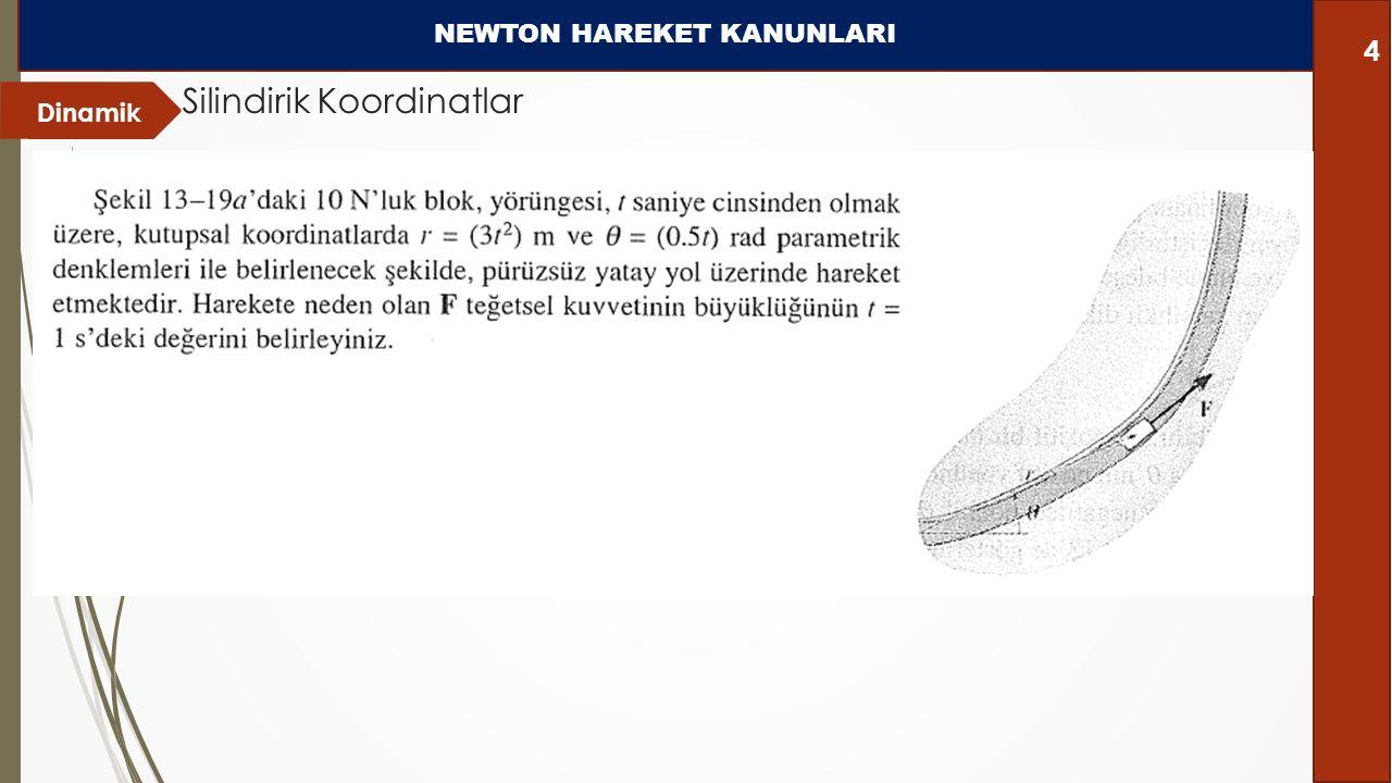 NEWTON HAREKET KANUNLARI