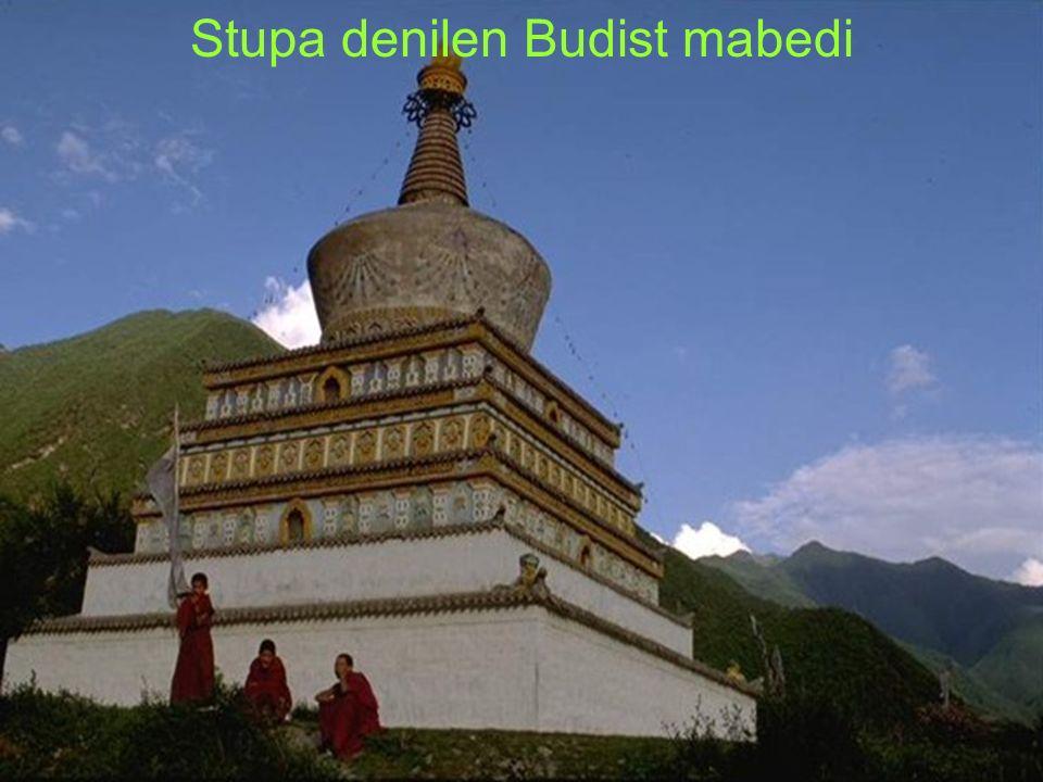 Stupa denilen Budist mabedi