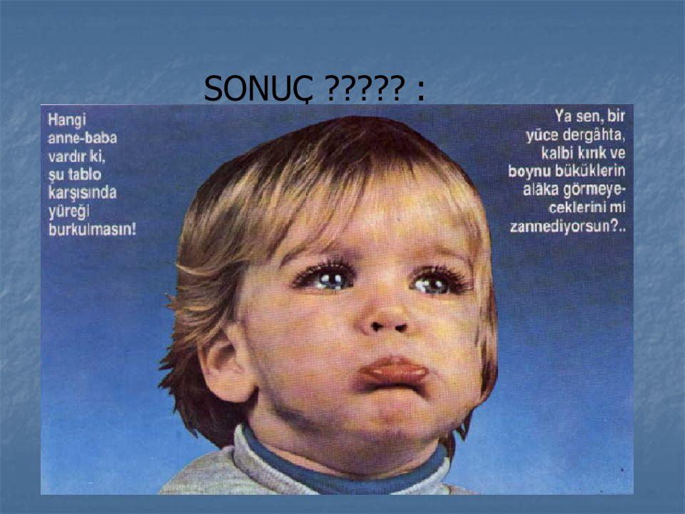 SONUÇ :