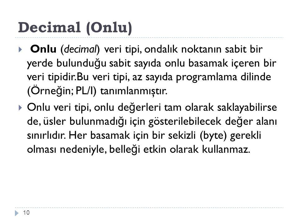 Decimal (Onlu)