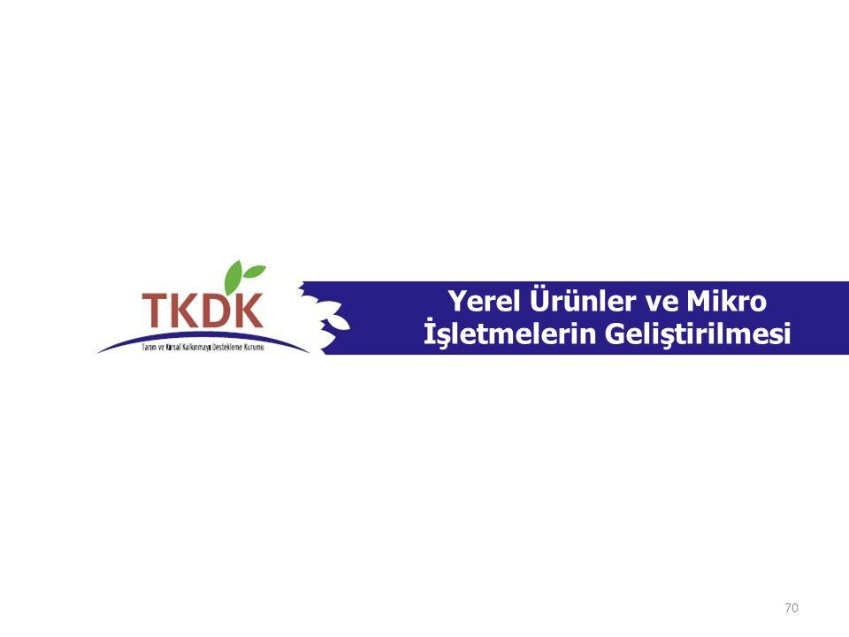 Yerel Ürünler ve Mikro İşletmelerin Geliştirilmesi